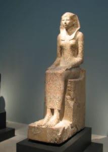 Female representation of Hatshepsut