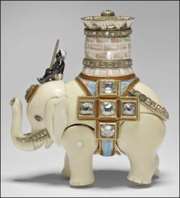 An automaton elephant