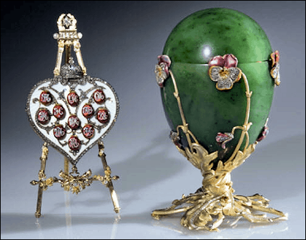 The Pansy Egg with portrait gallery